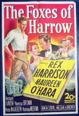 The Foxes of Harrow 1947 DVD - Rex Harrison / Maureen O'Hara